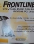 Pet product: Frontline